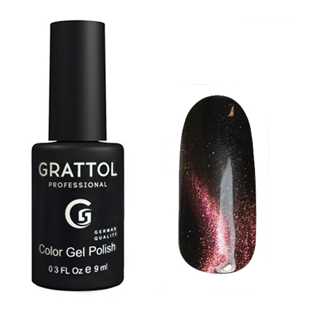 Grattol Color Gel Polish Mystery Cat 01