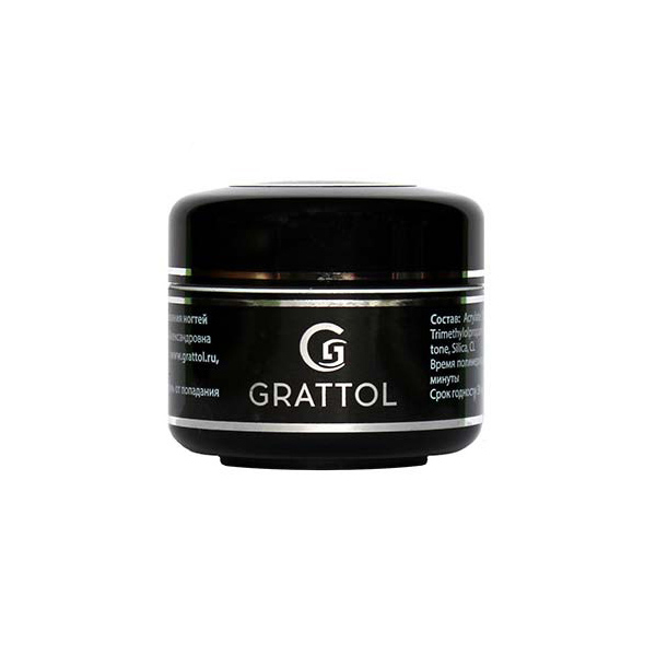 Grattol Camouflage Gel Light Natural, 15 мл